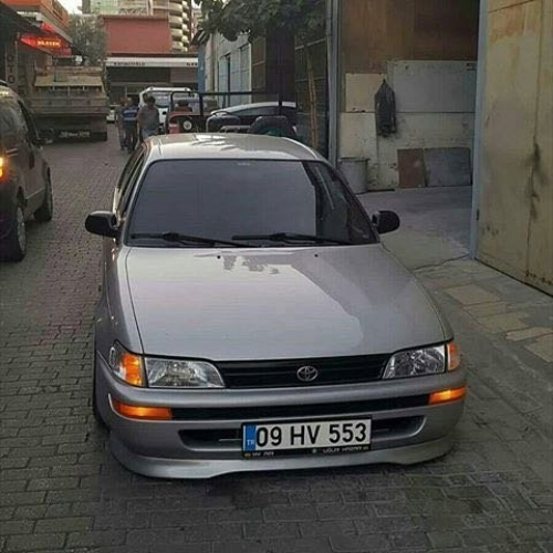 TOYOTA COROLLA TYPER EK ÖN TAMPON EKİ 1993-1998 Efsane