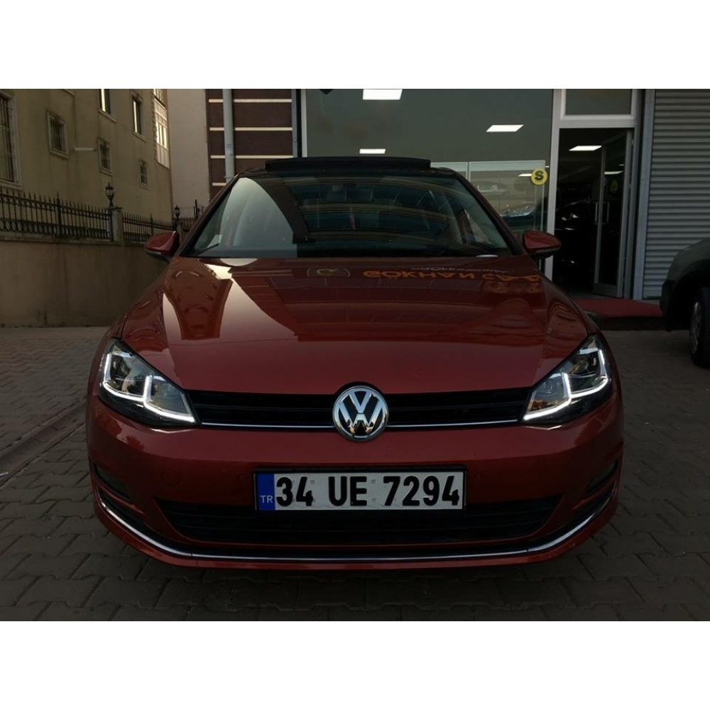 Volkswagen Golf 7 Ön Far Seti J Dizayn R Model (2012-2017)