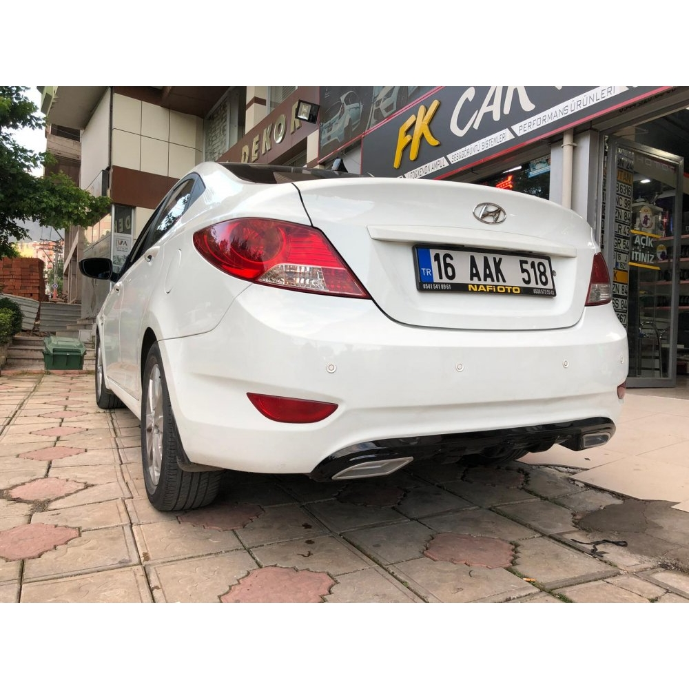 HYUNDAİ ACCENT BLUE BODY KİT (polyester)