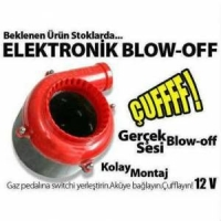 BLOW OFF ELEKTRONİK HER ARACA UYGUN 12V