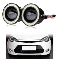 HONDA CİVİC FC5 TYPER TAMPON MERCEKLI LED SIS ANGEL EYES HALKALI (beyaz led+angel)
