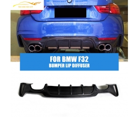 BMW F32 4 SERİSİ M PERFORMANCE DİFÜZÖR PLASTİK PİANO BLACK