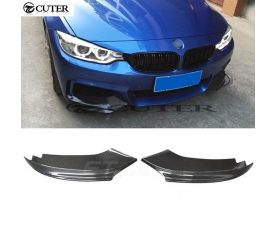 BMW F32 M PERFORMANCE ON TAMPON FLAPLARİ (plastik)