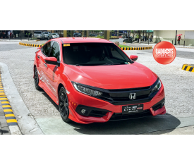 HONDA CİVİC FC5 RS ÖN PANJUR PİANO BLACK 2016 ve üzeri