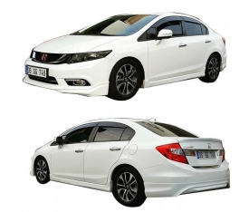 HONDA CİVİC FB7 BODY KİT 2012-2016 (polyester)