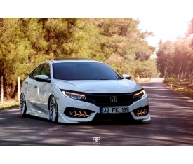 HONDA CİVİC FC5 BODY KİT (plastik)