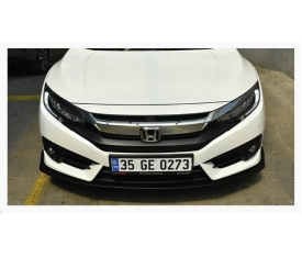 HONDA CİVİC FC5 TAMPON FLAP SETİ (piano black)