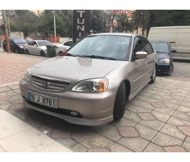 HONDA CİVİC VTEC2 MAKYAJSIZ BODY KİT 2001-2004 (polyester)