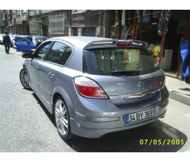 OPEL ASTRA H OPC SPOYLER (polyester)