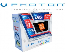 PHOTON SUPREME 9005 LED XENON 6000K 5400 LUMEN