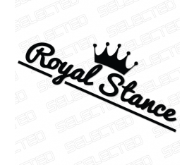 ROYAL STANCE STİCKER