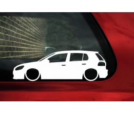 VOLKSWAGEN GOLF 6 STİCKER (2 adet)