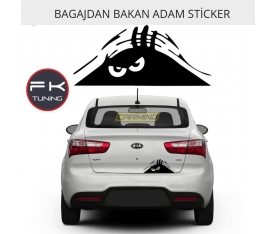 BAGAJDAN BAKAN ADAM STİCKER