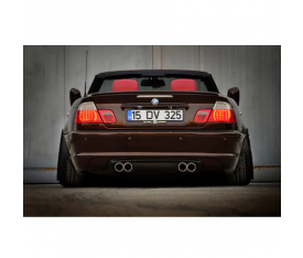 BMW E46 COUPE KİRMİZİ LED STOP TAKİMİ (1999-2003)