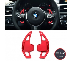 BMW F30 F1 VİTES KOLU PADDLE SHİFT KIRMIZI (2012-2018)
