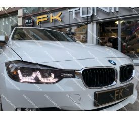 BMW F30 MERCEKLİ ÇİFT U FAR TAKIMI (2012-2018)