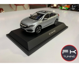 HONDA CİVİC FC5 MODEL ARABA DİECAST 2016-2019 (gri renk)