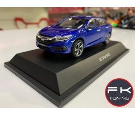 HONDA CİVİC FC5 MODEL ARABA DİECAST 2016-2019 (mavi renk)
