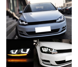 VOLKSWAGEN GOLF 7 R LİNE FAR (KAYAR SİNYALLİ)